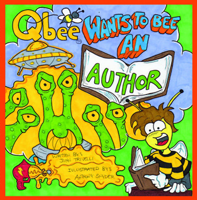 Qbee Wants To Bee An Author